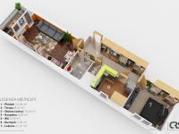 Prodej bytu 2+1 v osobním vlastnictví 68 m², Praha 8 - Libeň