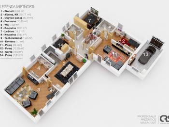 Prodej domu v osobním vlastnictví 173 m², Jesenice
