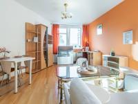 Obývací pokoj (Prodej bytu 2+kk v osobním vlastnictví 43 m², Praha 5 - Motol)