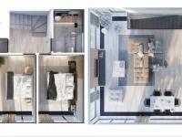 Vizualizace domu - Prodej domu v osobním vlastnictví 120 m², Vysoký Újezd