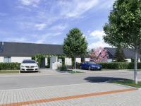 Parkovací stání s dobíjecí stanicí pro elektromobil - Prodej domu v osobním vlastnictví 120 m², Vysoký Újezd