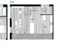Půdorys s legendou - Prodej domu v osobním vlastnictví 120 m², Vysoký Újezd