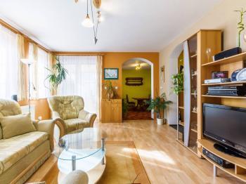 obývací pokoj - Prodej domu v osobním vlastnictví 220 m², Dřevčice