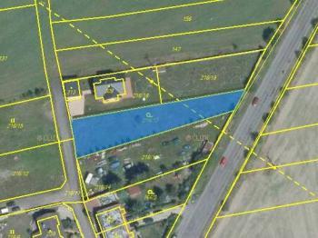 Prodej pozemku 1055 m², Milín