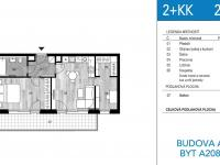 Prodej bytu 2+kk v osobním vlastnictví 68 m², Unhošť
