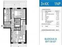 Prodej bytu 3+kk v osobním vlastnictví 105 m², Unhošť