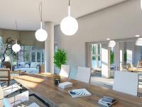 Vizualizace reprezentativního prostoru - Pronájem domu v osobním vlastnictví 550 m², Praha 10 - Vršovice
