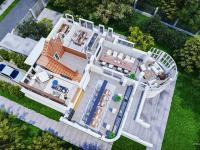 3d půdorys přízemí - Pronájem domu v osobním vlastnictví 550 m², Praha 10 - Vršovice