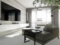 Obývací pokoj je místo, kde se všichni schází... - Prodej bytu 2+1 v osobním vlastnictví 61 m², Praha 9 - Vysočany