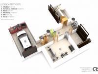 Suterén domu - Prodej domu v osobním vlastnictví 234 m², Praha 9 - Prosek
