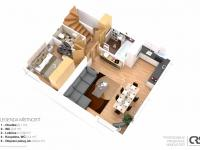 2.NP - Prodej domu v osobním vlastnictví 234 m², Praha 9 - Prosek