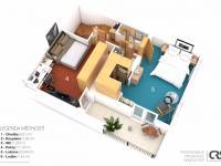 3.NP - Prodej domu v osobním vlastnictví 234 m², Praha 9 - Prosek