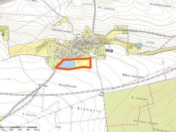 Možnost přikoupení vedlejšího pozemku - Prodej pozemku 16160 m², Slaný