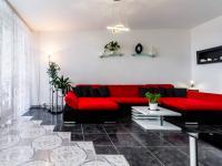 Obývací pokoj - Prodej bytu 3+1 v družstevním vlastnictví 70 m², Praha 5 - Stodůlky