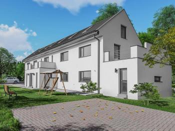 Pohled na dům - Prodej domu v osobním vlastnictví 318 m², Zlatníky-Hodkovice