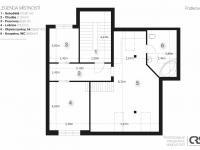 3. nadzemní podlaží - Prodej domu v osobním vlastnictví 270 m², Praha 4 - Krč