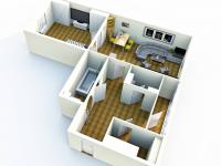 Prodej bytu 1+1 v družstevním vlastnictví 53 m², Praha 9 - Vysočany