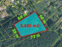 Prodej pozemku 3430 m², Proboštov