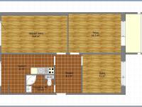 Prodej bytu 3+1 v osobním vlastnictví 77 m², Sokolnice