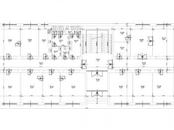 rozvržení jednoho z podlaží ... - Pronájem kancelářských prostor 25 m², Havlíčkův Brod