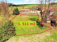 plocha pozemku ... (Prodej pozemku 1511 m², Okrouhlice)