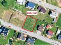 půdorys ... (Prodej pozemku 764 m², Havlíčkův Brod)