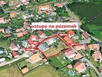 vstupy na pozemek ... - Prodej domu v osobním vlastnictví 294 m², Rozsochatec