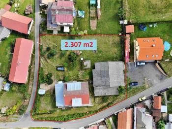 pohled na celek ... - Prodej domu v osobním vlastnictví 294 m², Rozsochatec