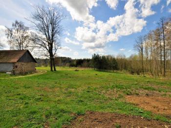 na okraji obce ... - Prodej pozemku 1511 m², Okrouhlice