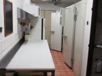 přípravna a mrazící boxy (Pronájem restaurace 260 m², Miličín)