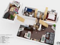 Pronájem bytu 3+kk v osobním vlastnictví 90 m², Praha 4 - Michle