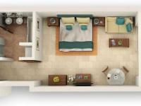 Prodej bytu v osobním vlastnictví, 50 m2,