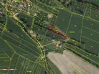 Prodej pozemku 1909 m², Ostředek