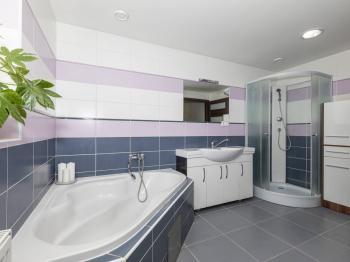 Dolní koupelna - Prodej domu v osobním vlastnictví 142 m², Chodouny