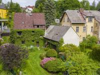 Dům ze zahrady - Prodej domu v osobním vlastnictví 83 m², Luby