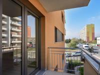 2. balkon - Prodej bytu 2+kk v osobním vlastnictví 63 m², Praha 4 - Kamýk