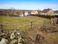 pohled na pozemek - Prodej chaty / chalupy 51 m², Blevice