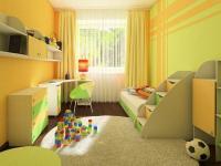 návrh dětského pokoje - Prodej bytu 2+kk v osobním vlastnictví 43 m², Praha 3 - Žižkov