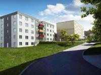 Vizualizace 1 - Prodej bytu 3+kk v osobním vlastnictví 84 m², Jince
