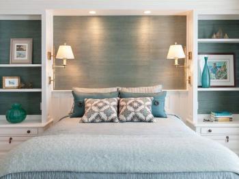 Návrh ložnice - Prodej bytu 2+1 v osobním vlastnictví 52 m², Nehvizdy