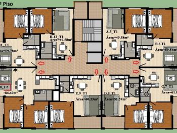 Prodej bytu 3+kk v osobním vlastnictví 84 m², Santa Maria
