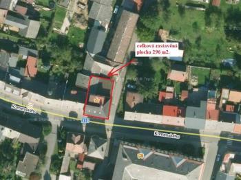lokalizace - Prodej komerčního objektu 450 m², Letohrad
